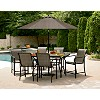 Garden Oasis East Point 7 Pc. High Dining Set SS-I-139EYSET7
