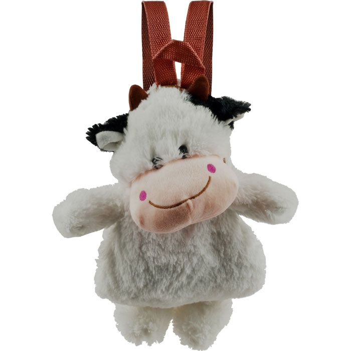 Cuddlee Pet Plush Animal Backpack - Cow
