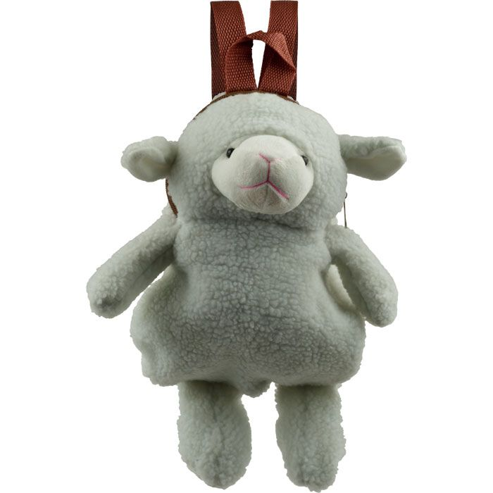 Cuddlee Pet Plush Animal Backpack - Sheep