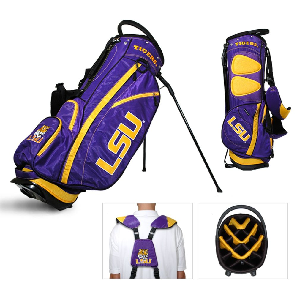 Team Golf LSU Tigers NCAA Fairway Stand Golf Bag - TEAM GOLF (080V004455447000 22028) photo