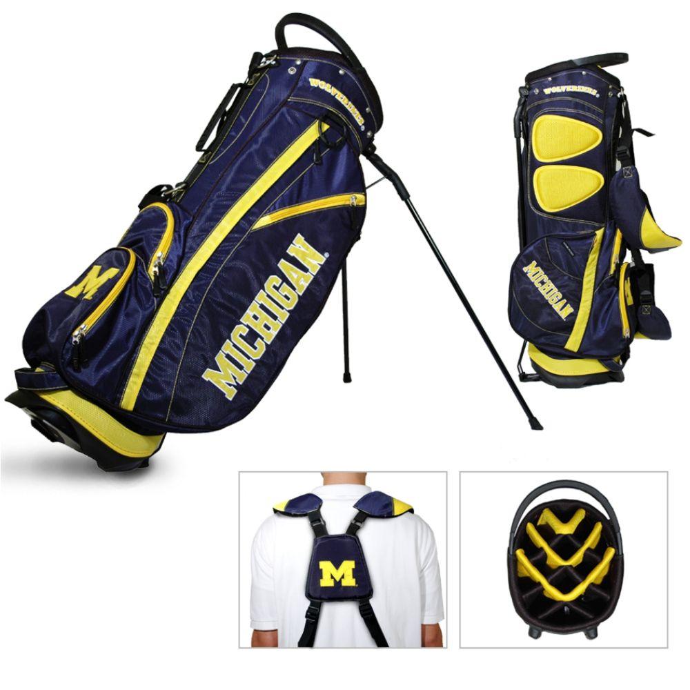 Team Golf Michigan Wolverines NCAA Fairway Stand Golf Bag - TEAM GOLF (080V004455448000 22228) photo