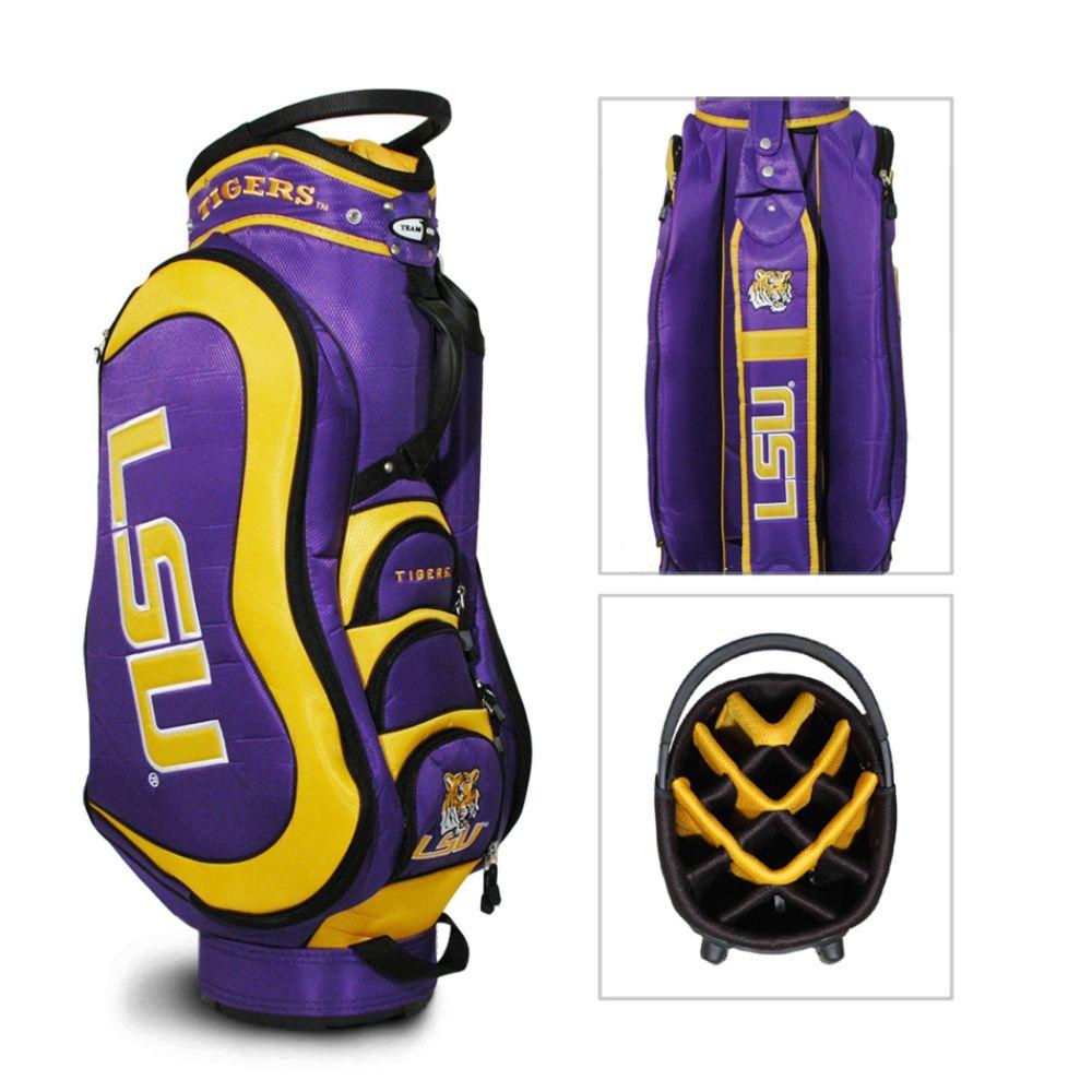 Team Golf LSU Tigers NCAA Medalist Cart Golf Bag - TEAM GOLF (080V004455456000 22035) photo