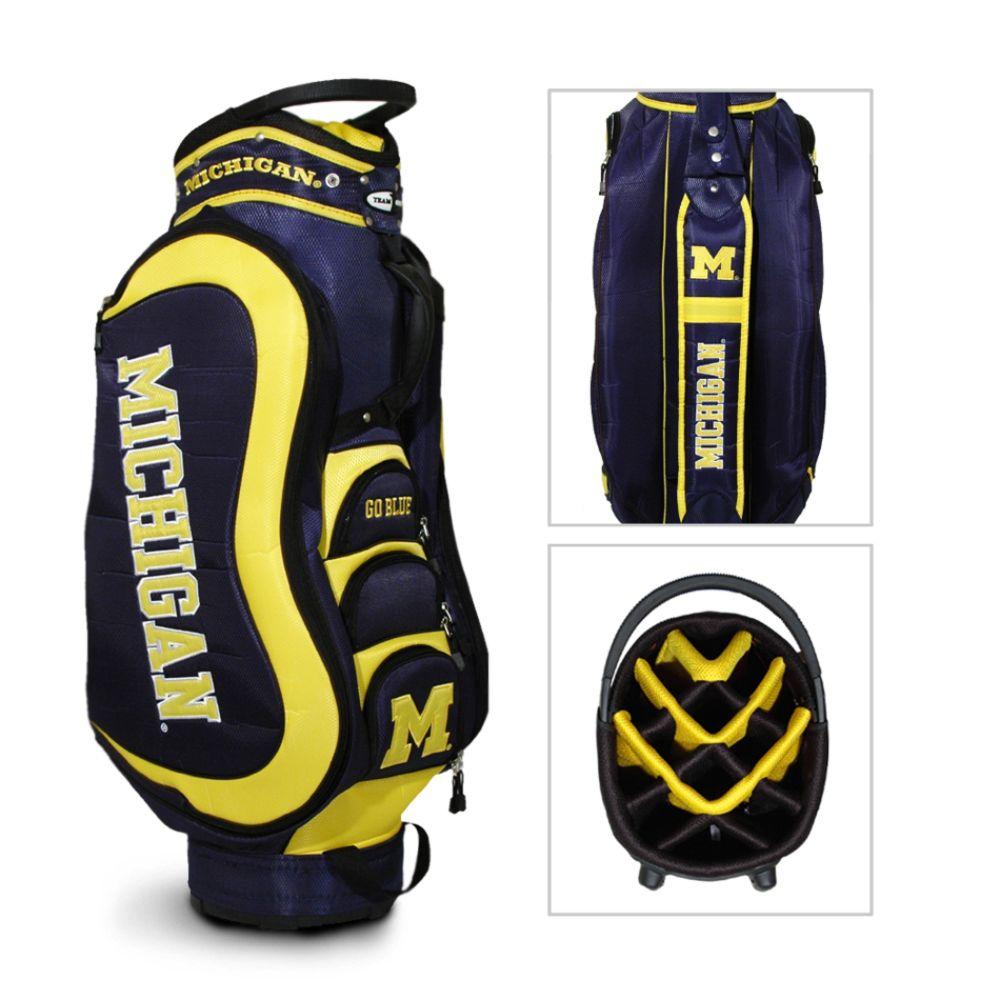 Team Golf Michigan Wolverines NCAA Medalist Cart Golf Bag - TEAM GOLF (00648301000 22235) photo