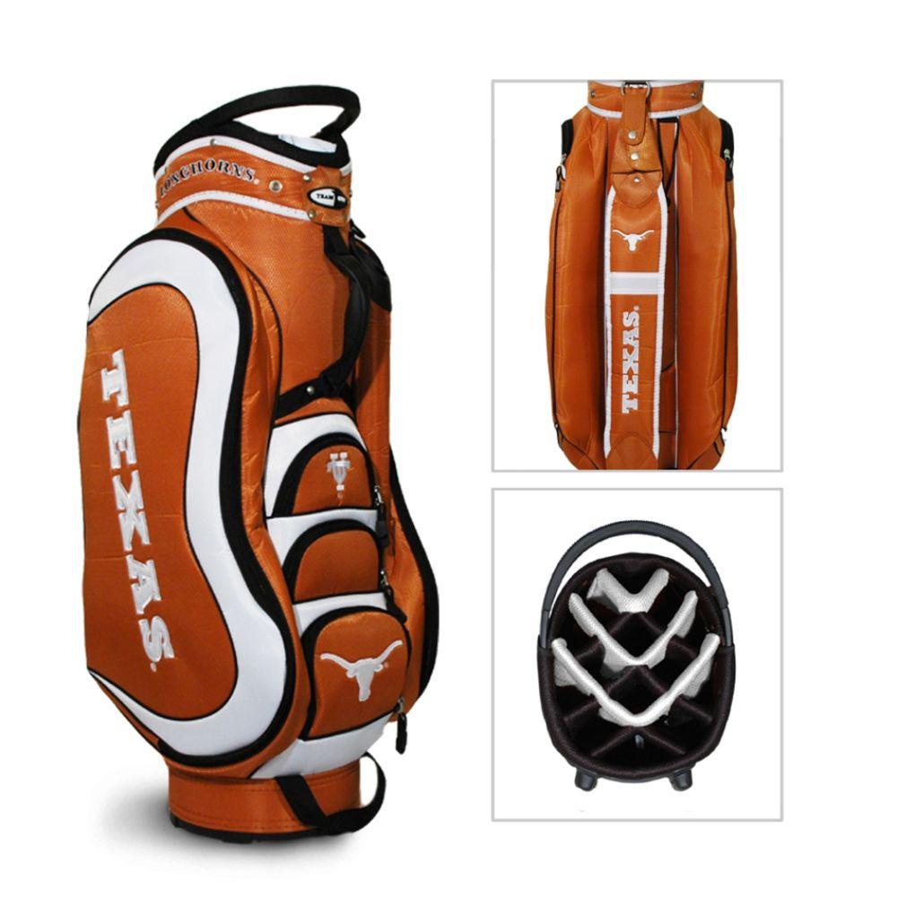 Team Golf Texas Longhorns NCAA Medalist Cart Golf Bag - TEAM GOLF (080V004455459000 23335) photo