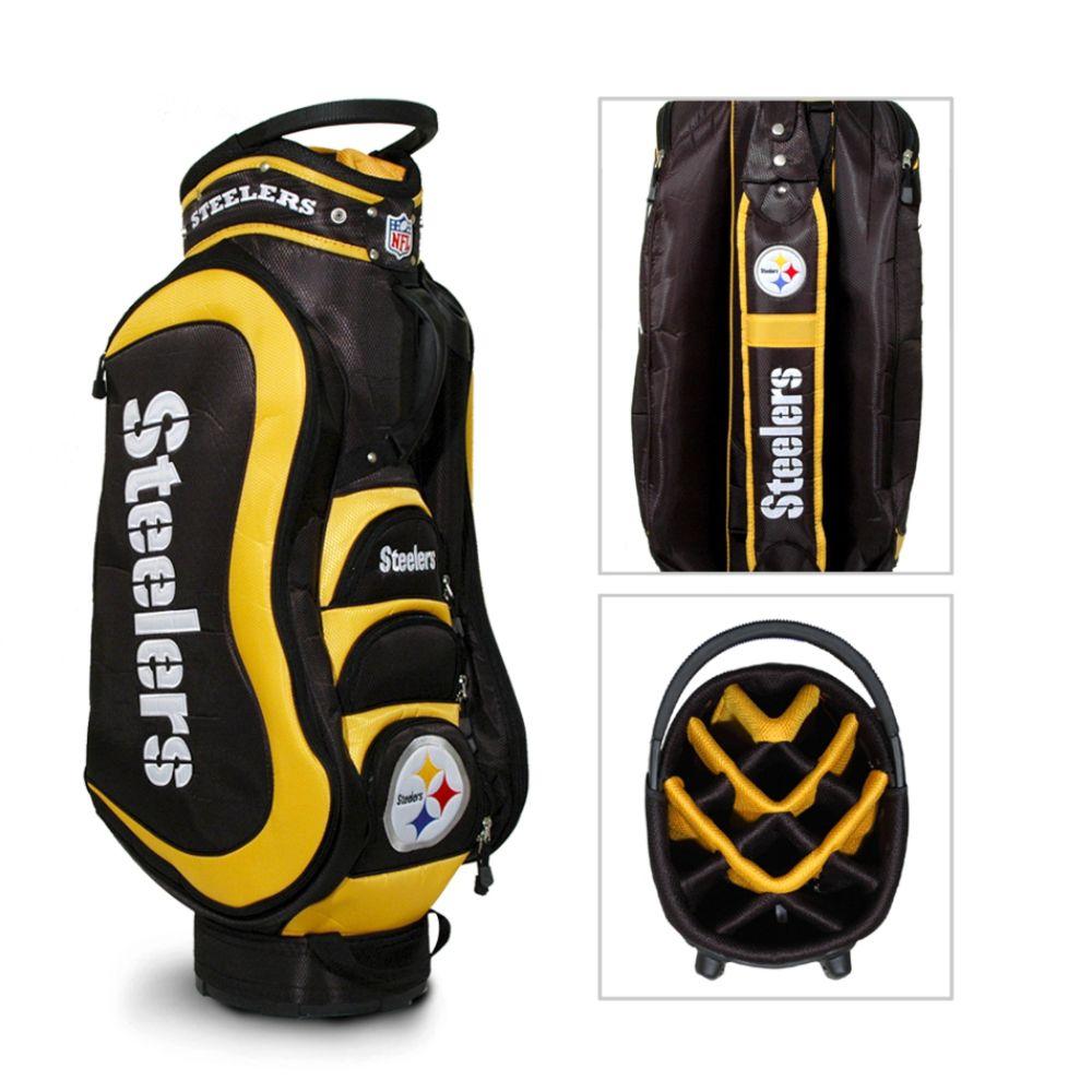 Team Golf Pittsburgh Steelers NFL Medalist Cart Golf Bag - TEAM GOLF (00648307000 32435) photo
