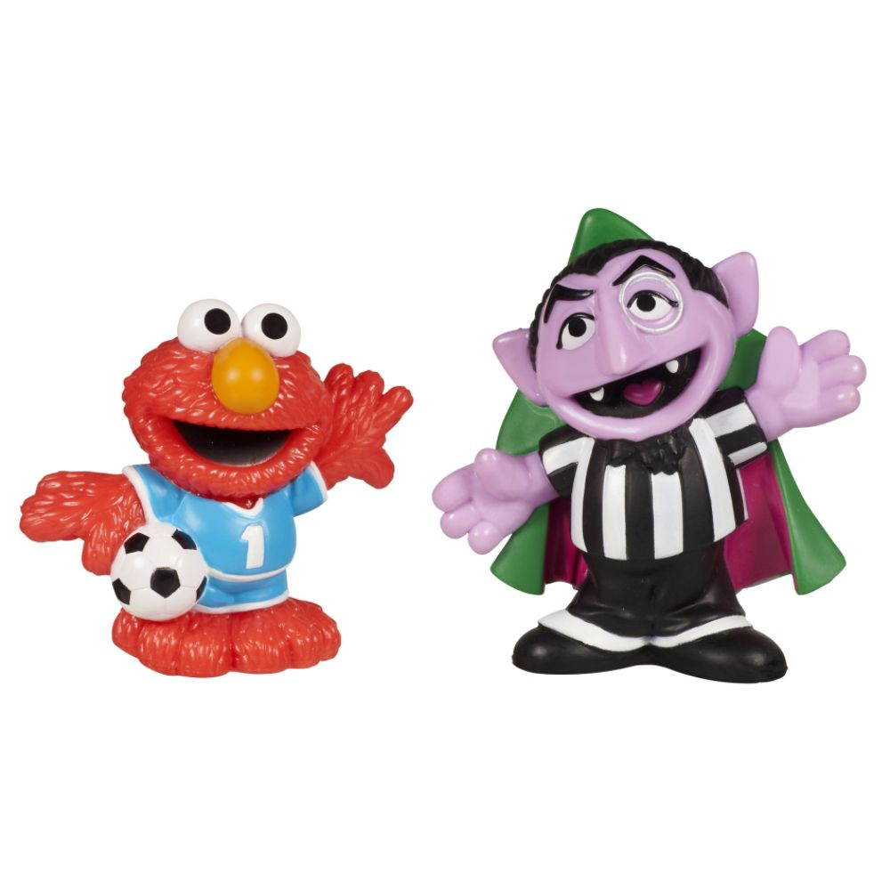 ® Soccer Friends Count Von Count & Elmo