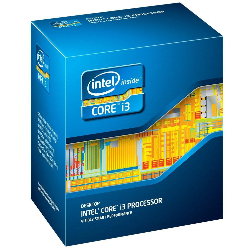 Intel i3-2100 Dual Core 3.10Ghz 3MB 2x256KB Desktop Processor