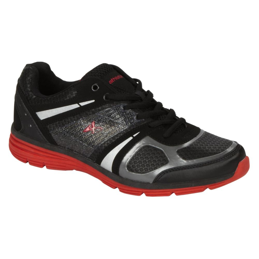 Athletech Men's Ath L-Hawk Athletic Shoe - Black/Red