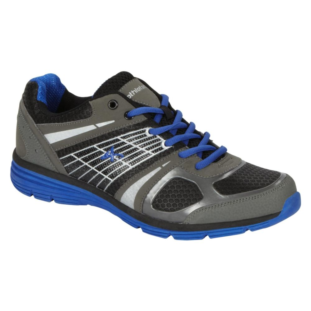 Athletech Men's Ath L-Hawk Athletic Shoe - Grey/Blue
