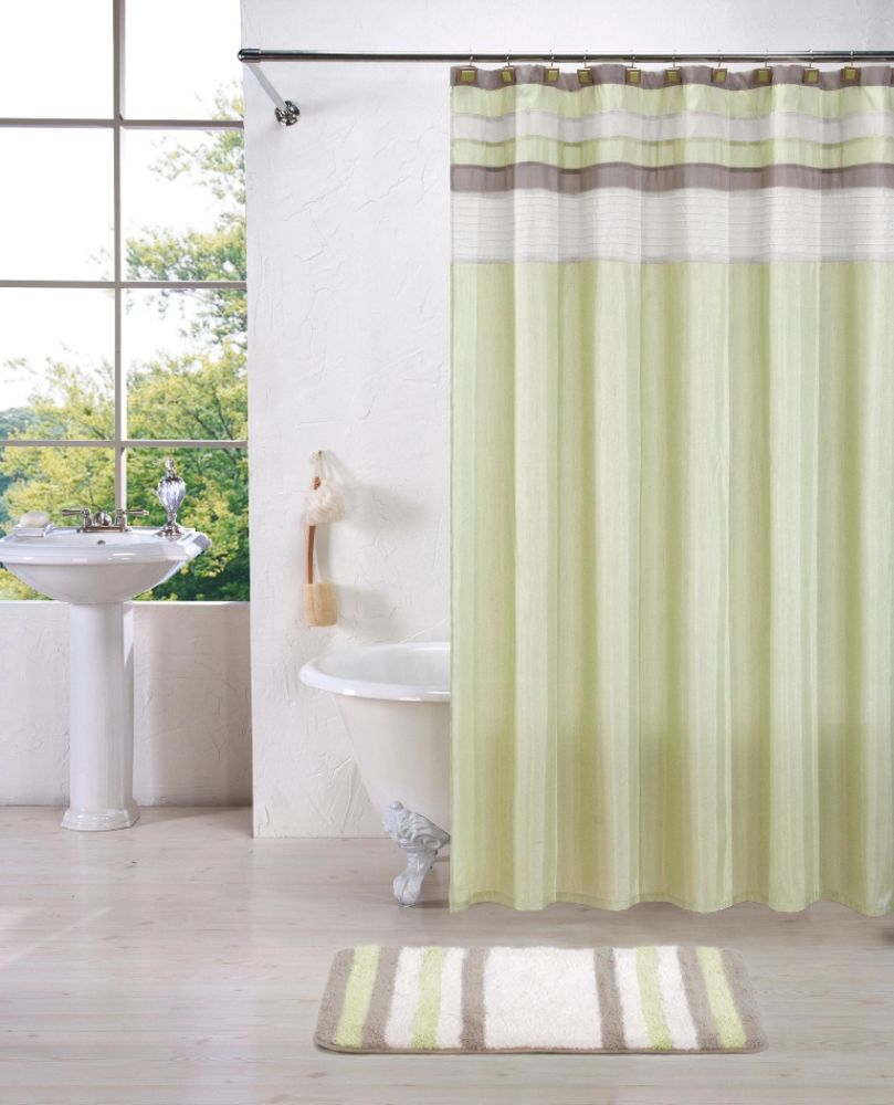 Panel Curtains For Sliding Glass Doors Shower Curtains at Family Dollar