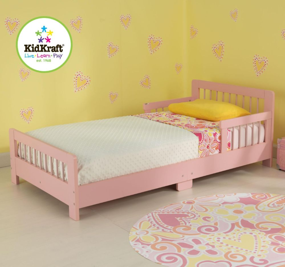 Slatted Toddler Bed-Blueberry