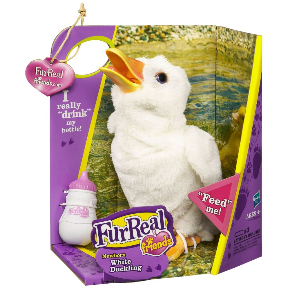 Hasbro FURREAL FRIENDS Newborn White Duckling