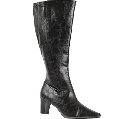 Annie Women's Timely Wide Calf - Black Antique