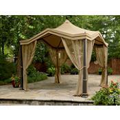 Romantic Garden Oasis Peaked Top Gazebo From Kmart Gazebos