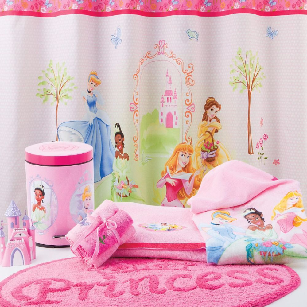 Disney Princess Shower Curtain or Shower Curtain Hooks