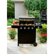 Sears - Kenmore  4-Burner Gas Grill with Side Burner - $189.97