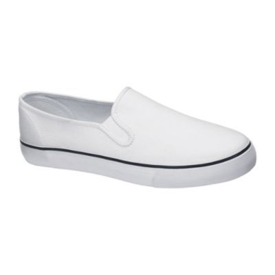 Basic Editions Men's Kai Casual Canvas Shoe - White $ 12.99