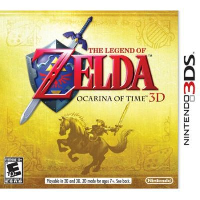 Nintendo Legend of Zelda Ocarina of Time 3D NINTENDO OF AMERICA INC