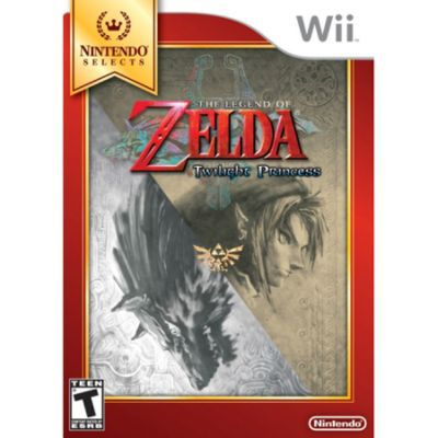 Legend of Zelda Twilight Princess Nintendo Selects NINTENDO OF AMERICA INC