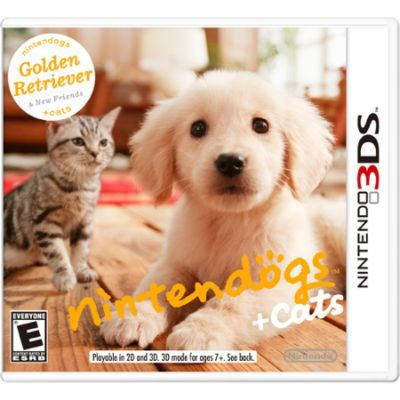 Nintendo Inc Nintendogs Cats Golden Retriever NINTENDO OF AMERICA INC
