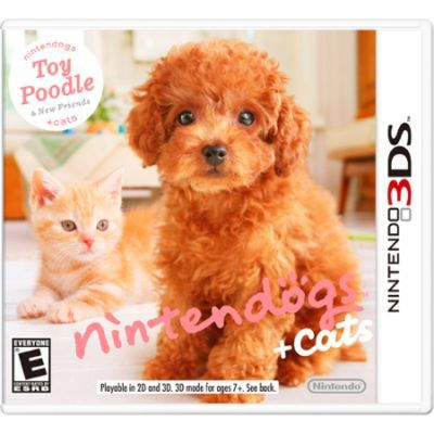 Nintendo Inc Nintendogs Cats Toy Poodle NINTENDO OF AMERICA INC