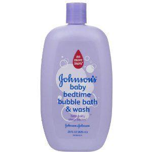 Johnson and Johnson Bedtime Bubble Bath and Wash 28 fl oz JOHNSON and JOHNSON HEALTH BABY