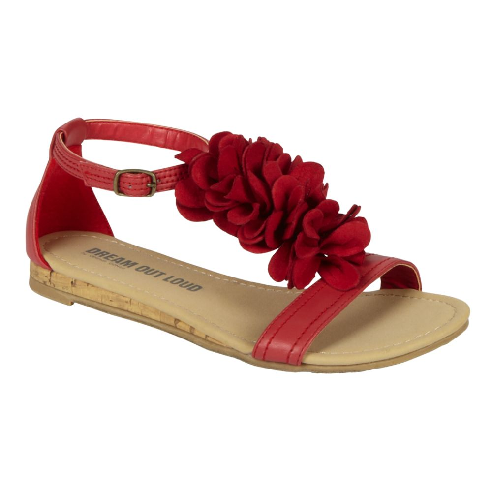 Dream Out Loud by Selena Gomez Women's Madison Flower Flat Sandal - $ 16.99