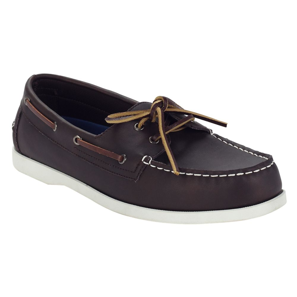 Thom McAn Men's Keeper Two-Eye Boat Shoe - Brown $ 14.99