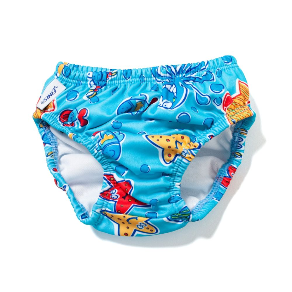 Finis Boy's Swim Diaper Blue Octopus Small $ 9.99