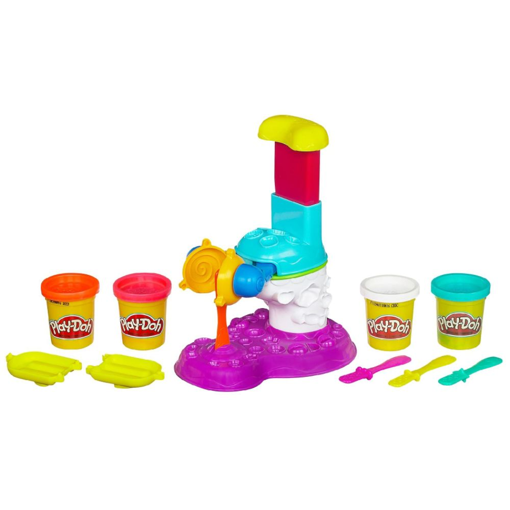 Play-Doh SWEETS CAF? PERFECT POP MAKER Playset