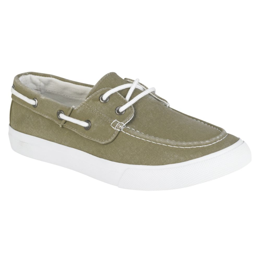 Thom McAn Men's Kabo Canvas Boat Shoe- Tan $ 19.99
