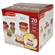 Kmart - Rubbermaid  Easy Find Lids 20-Piece Storage Set - 7.28