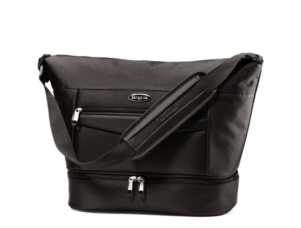 Samsonite Silhouette 12 Shoulder Bag (Black)