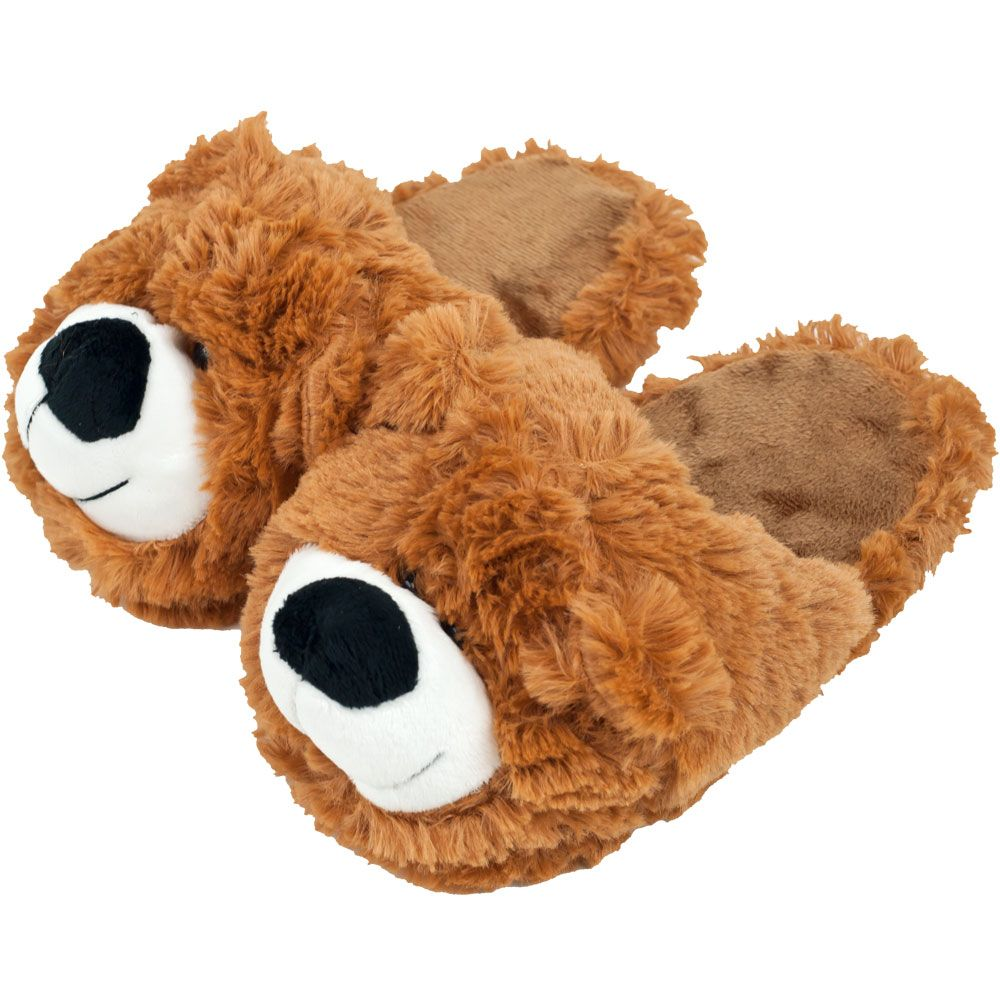 Cuddlee Pet SLIPPERS - Teddy Bear - Medium