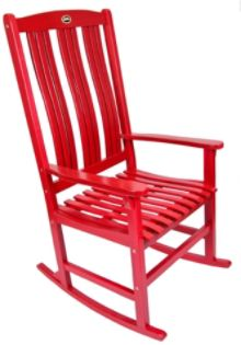 Red Single Rocker