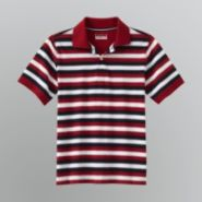 Basic Editions Boy's Striped Polo Shirt at Kmart.com