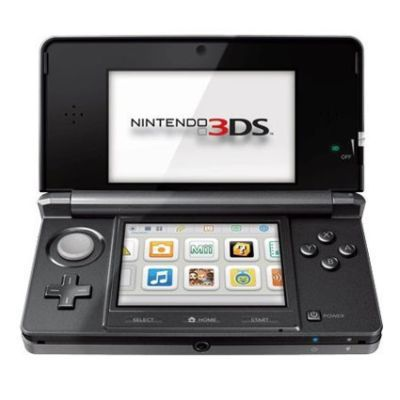 Nintendo 3DS Handheld Game Console Cosmo Black