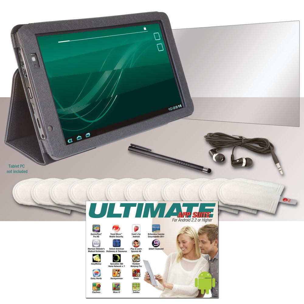 PC Treasures Archos 10.1 Internet Tablet Accessory Kit