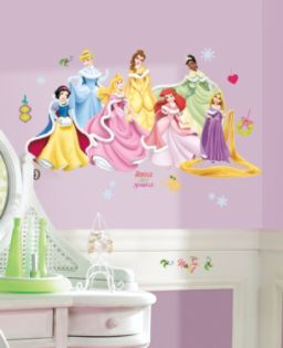 RoomMates  Disney Princess - Holiday Peel & Stick Wall Decals