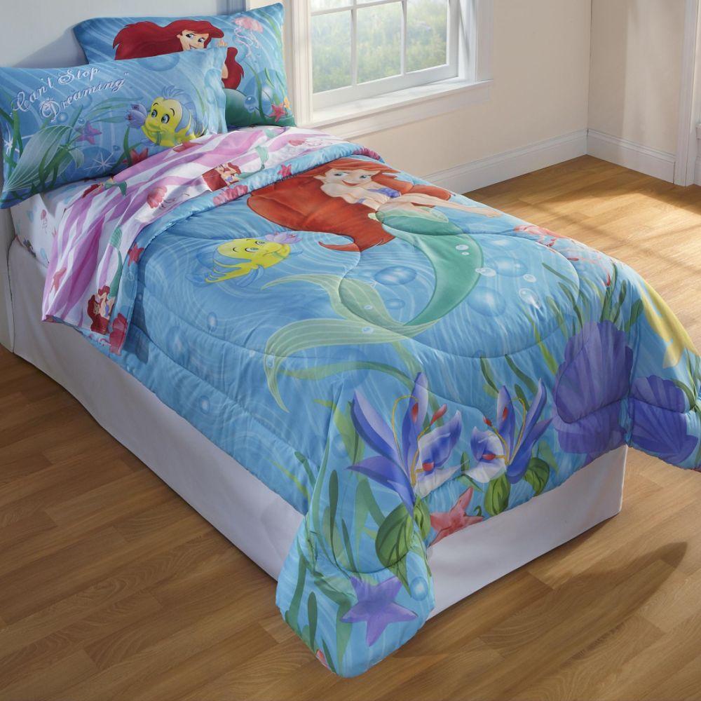 Justin Bieber Bedding Twin on Disney Girl S Little Mermaid Twin Comforter