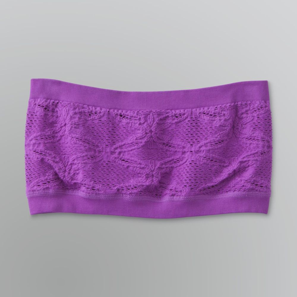 Dream Out Loud by Selena Gomez Junior's Eyelet Bandeau Bra Top $ 3.75