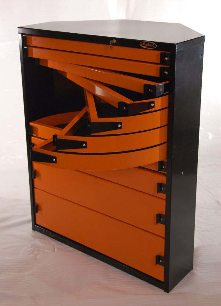 Pro50 Stationary Corner Tool Storage