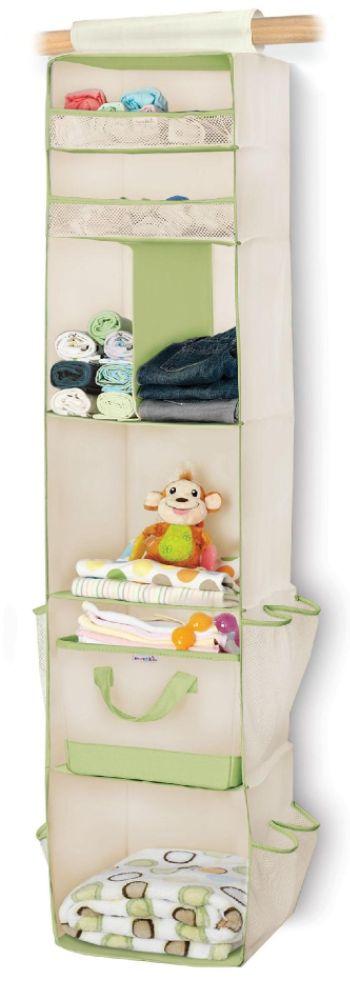 Munchkin 6-Shelf Hanging Closet Organizer $ 19.99