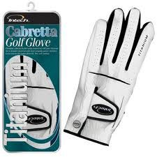Intech Cabretta Glove Mens Left-Handed Medium