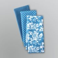 Sandra by Sandra Lee 3-Pack Damask Kitchen Towels at Sears.com