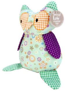 Trend-Lab  STUFFED TOY - JELLY BEAN OWL
