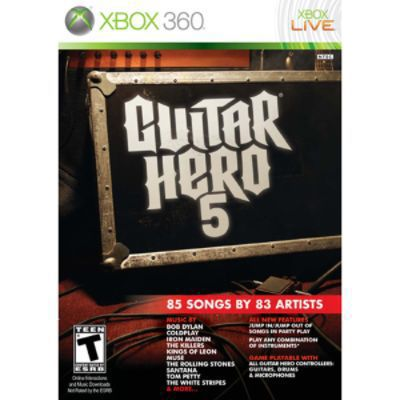 Activision Xbox 360 Guitar Hero 5 (Software Only) Video Game