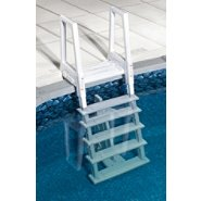 Swim Time White Heavy Duty In-Pool Ladder for Above Ground Swimming Pools at Sears.com