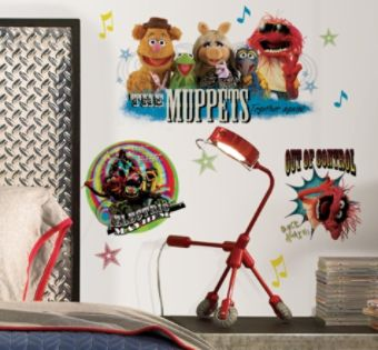 RoomMates  Muppets Peel & Stick Wall Decals