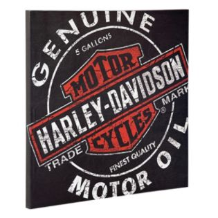 Harley-Davidson  H-D Oil Can Canvas Print